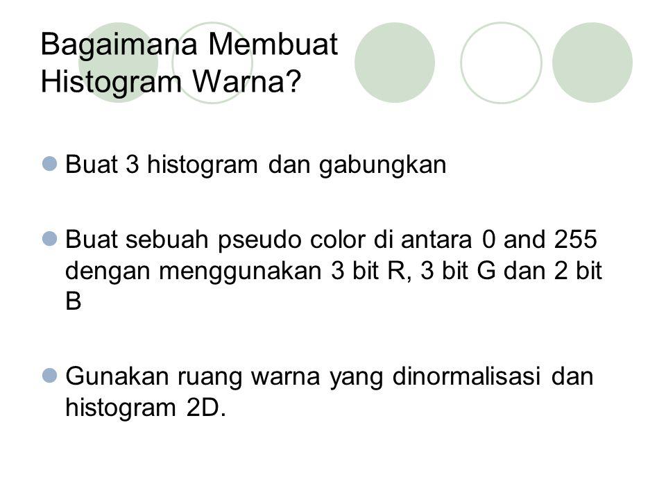 Bagaimana Membuat Histogram Warna