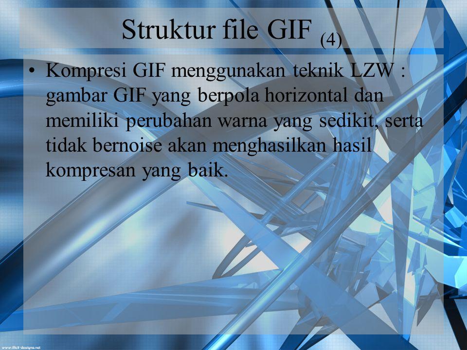 Struktur file GIF (4)