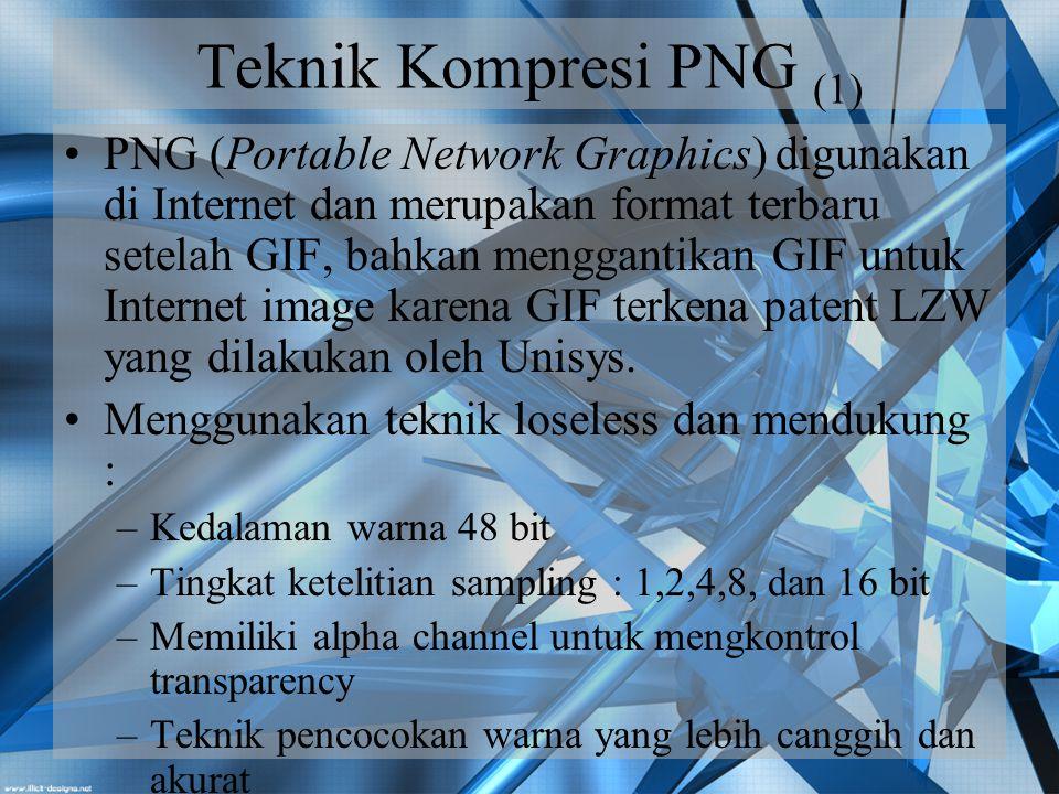 Teknik Kompresi PNG (1)