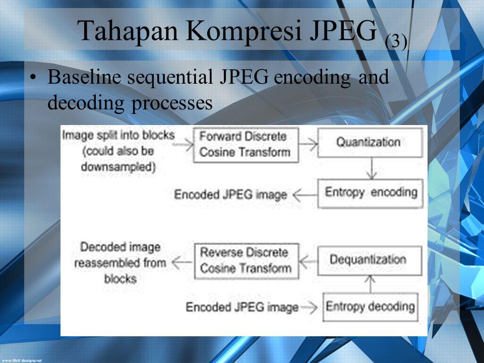 Tahapan Kompresi JPEG (3)