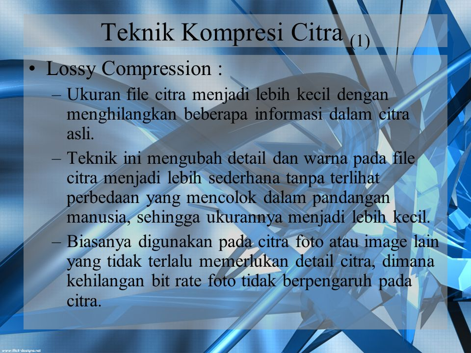 Teknik Kompresi Citra (1)
