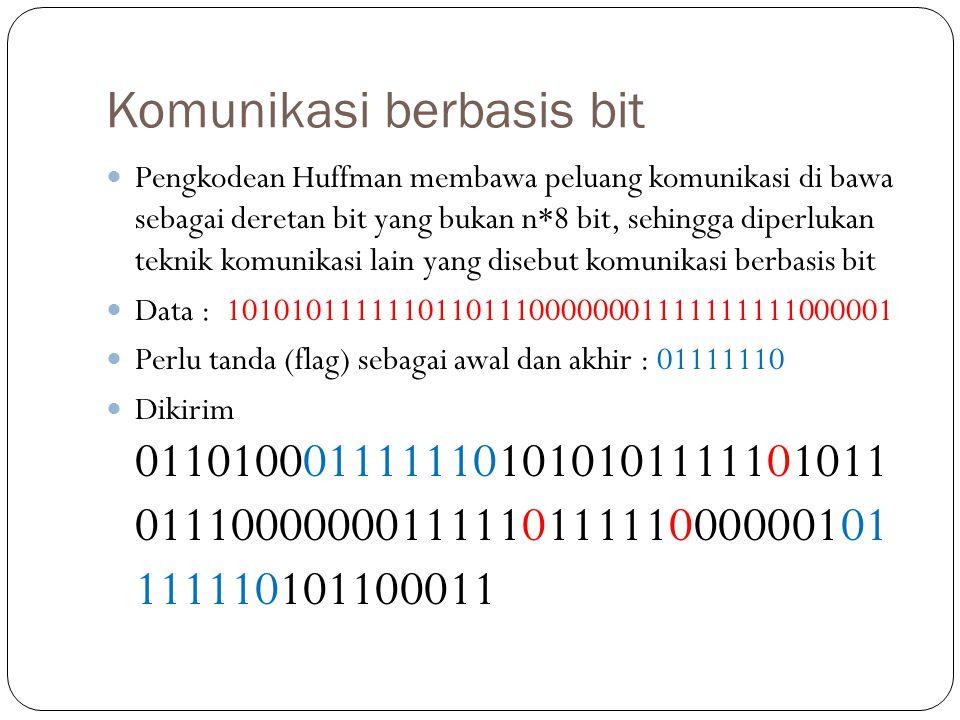 Komunikasi berbasis bit