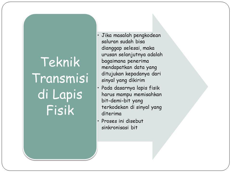 Teknik Transmisi di Lapis Fisik