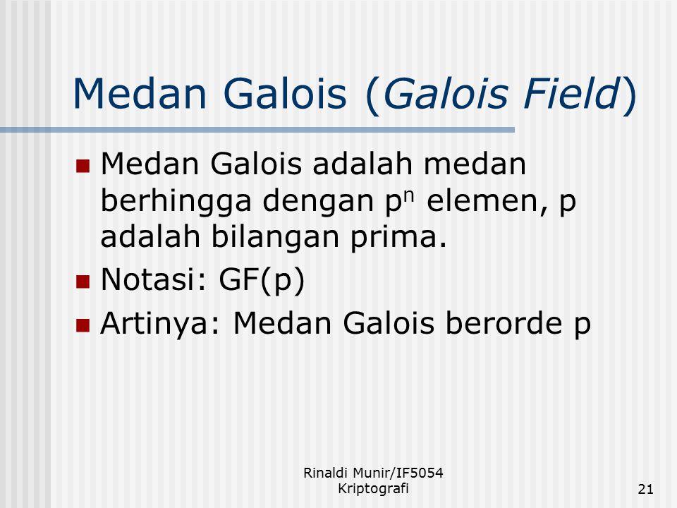 Medan Galois (Galois Field)