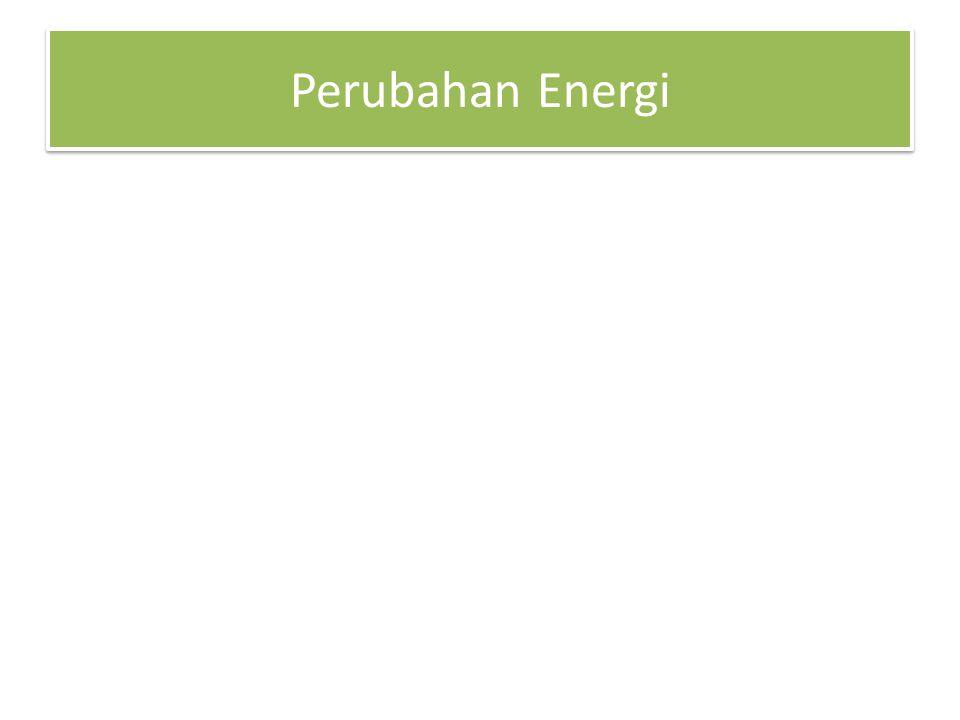 Perubahan Energi