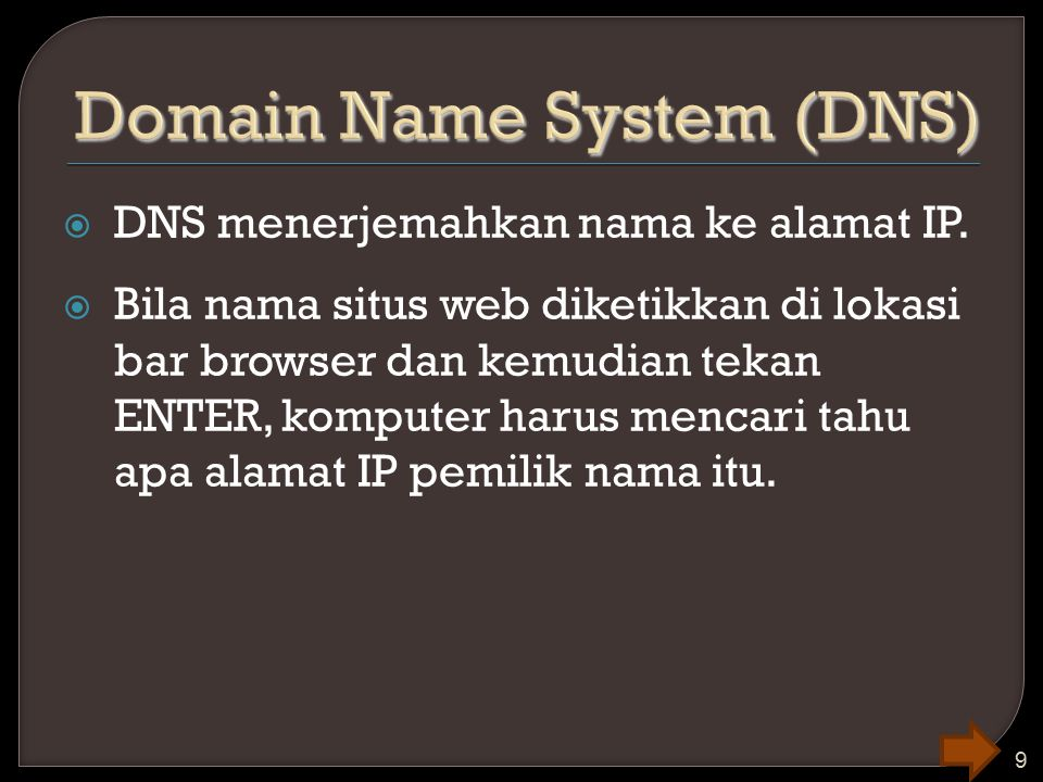 Domain Name System (DNS)