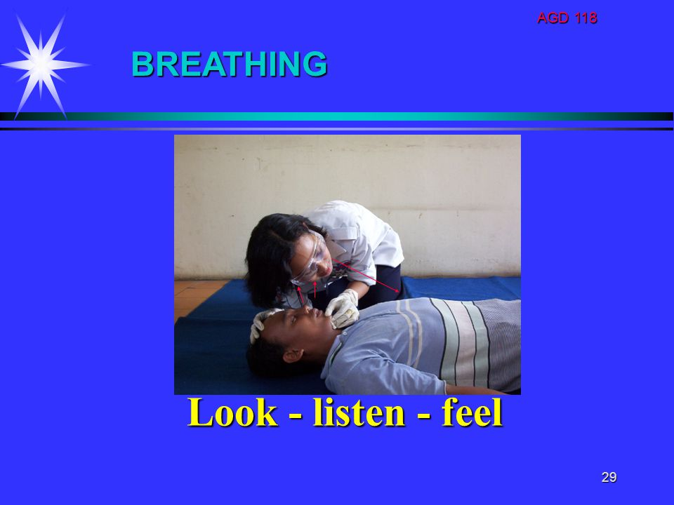 AGD 118 BREATHING Look - listen - feel