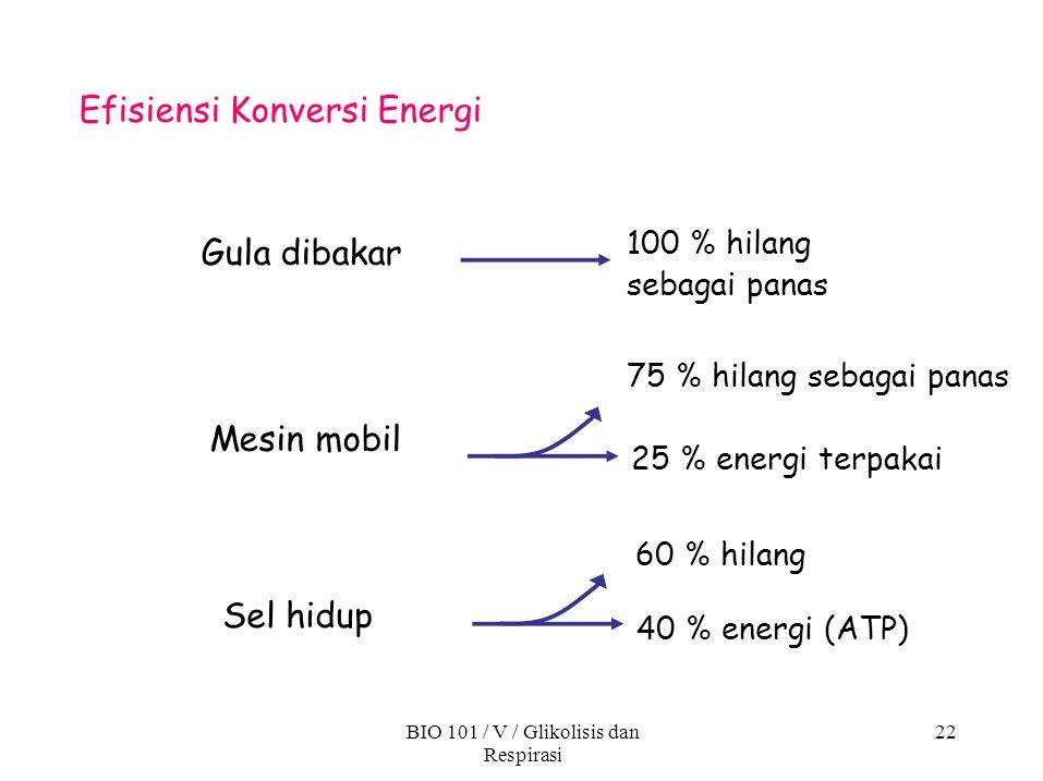 Efisiensi Konversi Energi