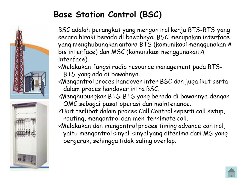 Base Station Control (BSC)