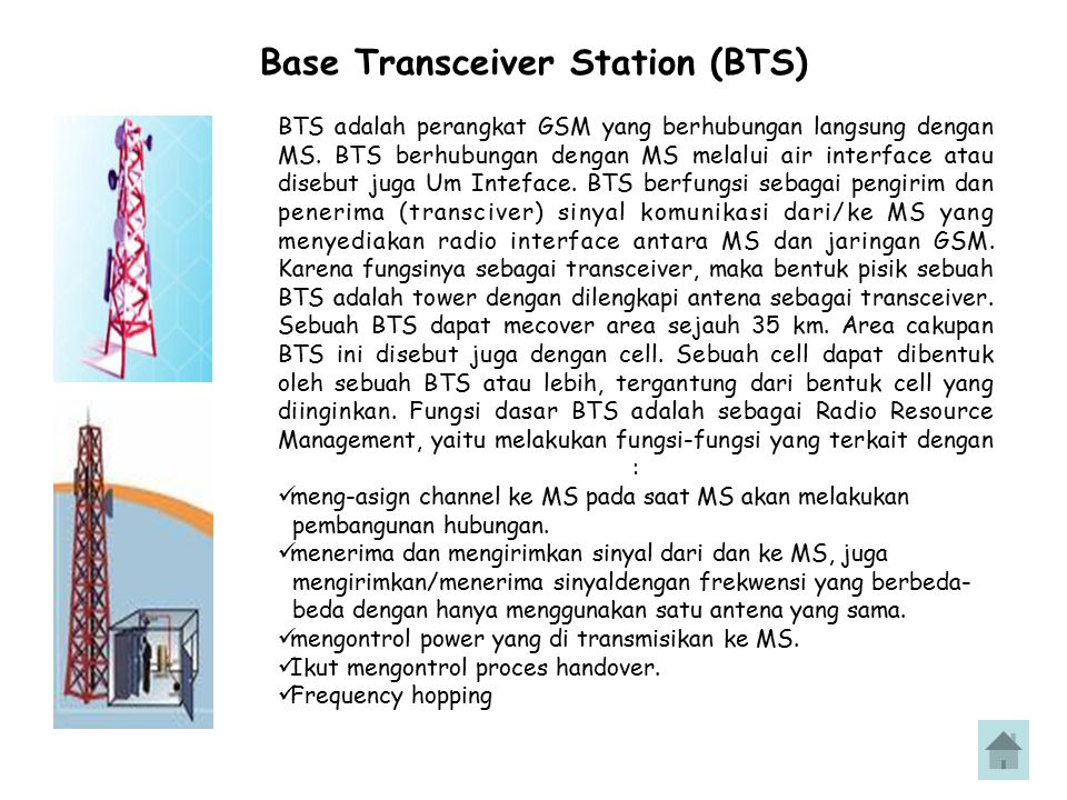 Base Transceiver Station (BTS)