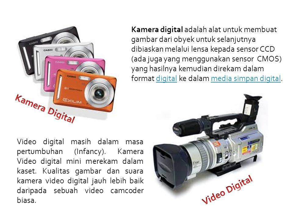 Kamera Digital Video Digital