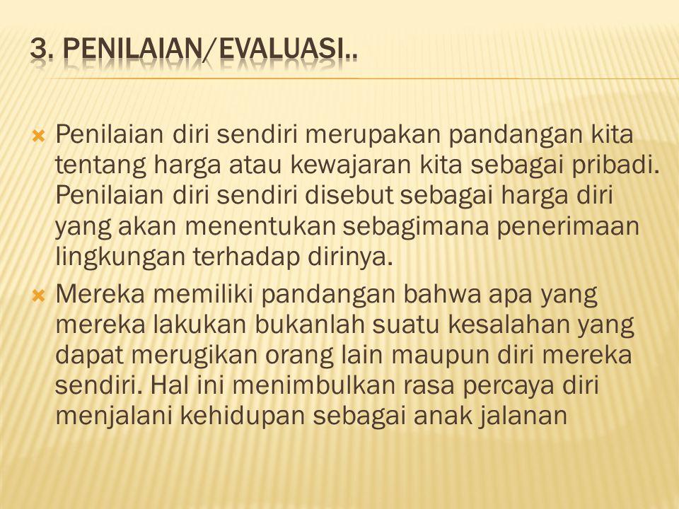 3. Penilaian/Evaluasi..