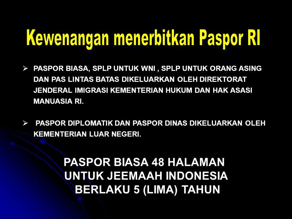 UNTUK JEEMAAH INDONESIA