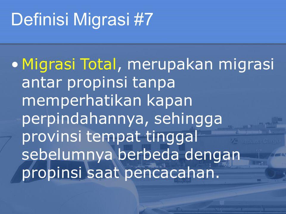 Definisi Migrasi #7