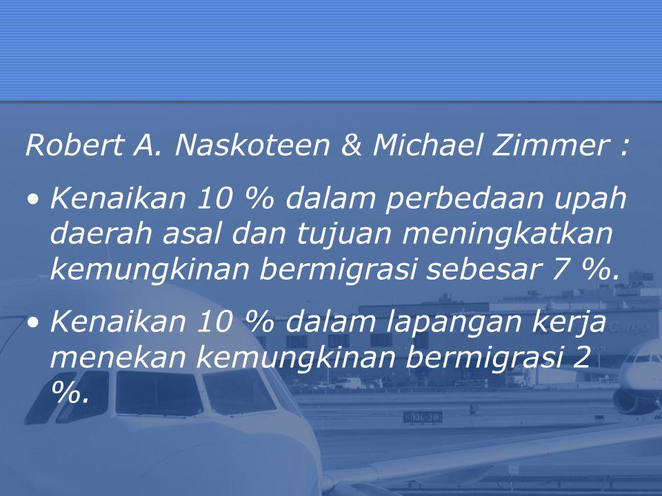 Robert A. Naskoteen & Michael Zimmer :