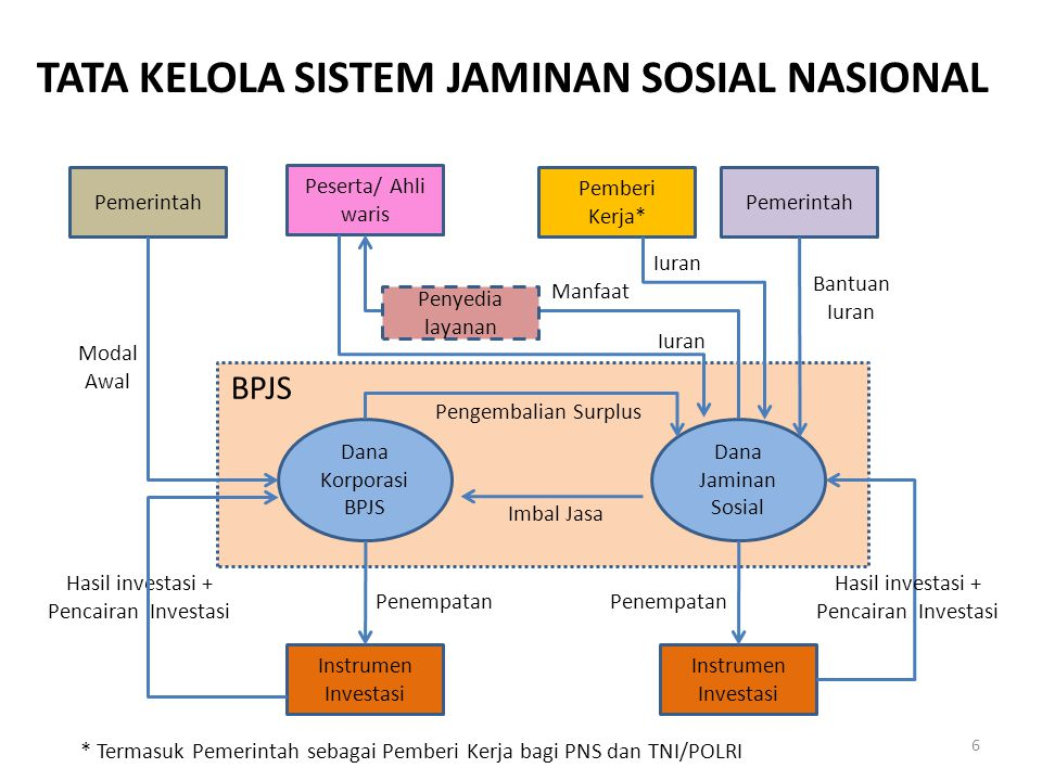 TATA KELOLA SISTEM JAMINAN SOSIAL NASIONAL