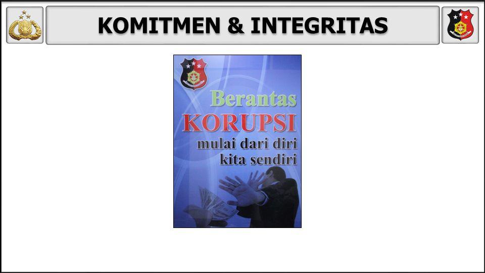 KOMITMEN & INTEGRITAS