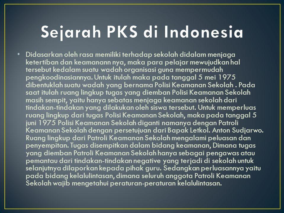 Sejarah PKS di Indonesia