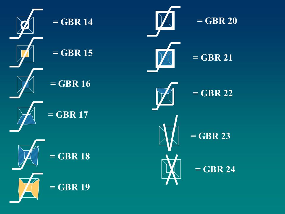 = GBR 14 = GBR 20 = GBR 15 = GBR 21 = GBR 16 = GBR 22 = GBR 17 = GBR 23 = GBR 18 = GBR 24 = GBR 19