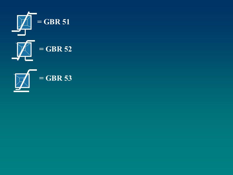 = GBR 51 = GBR 52 = GBR 53