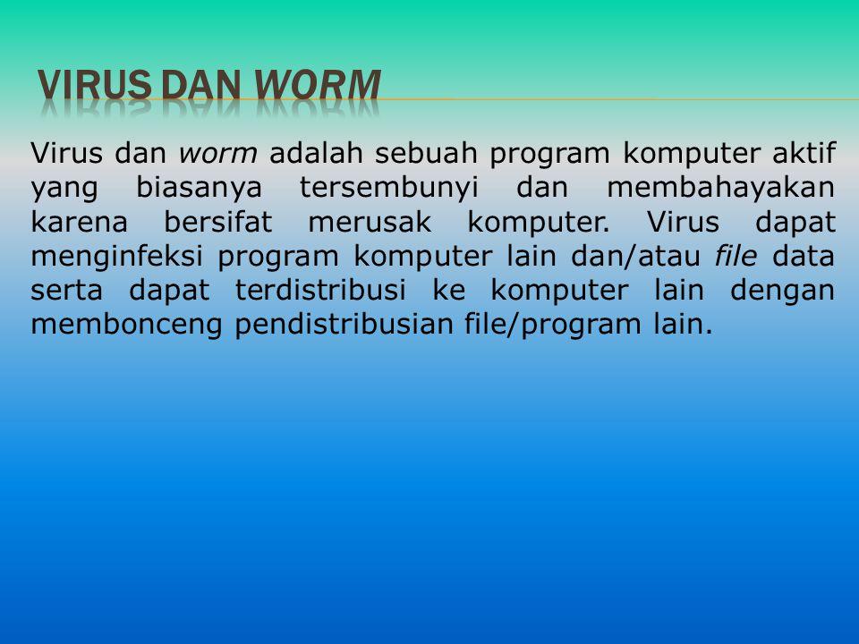 Virus dan worm