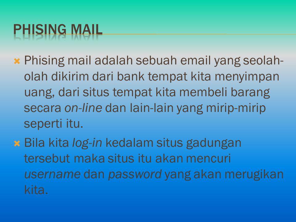 Phising mail