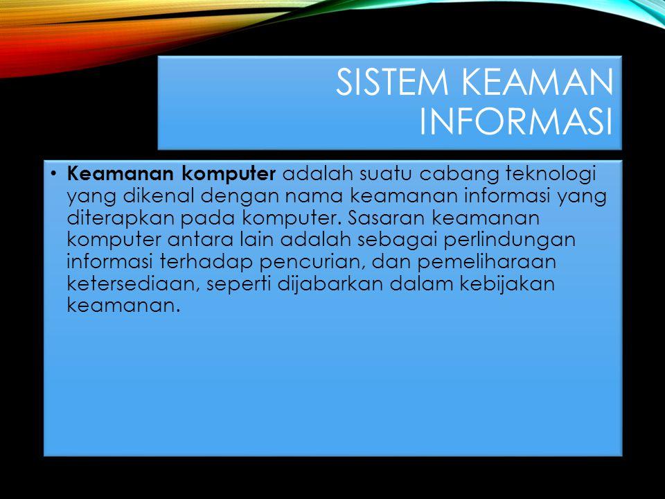 Sistem keaman informasi