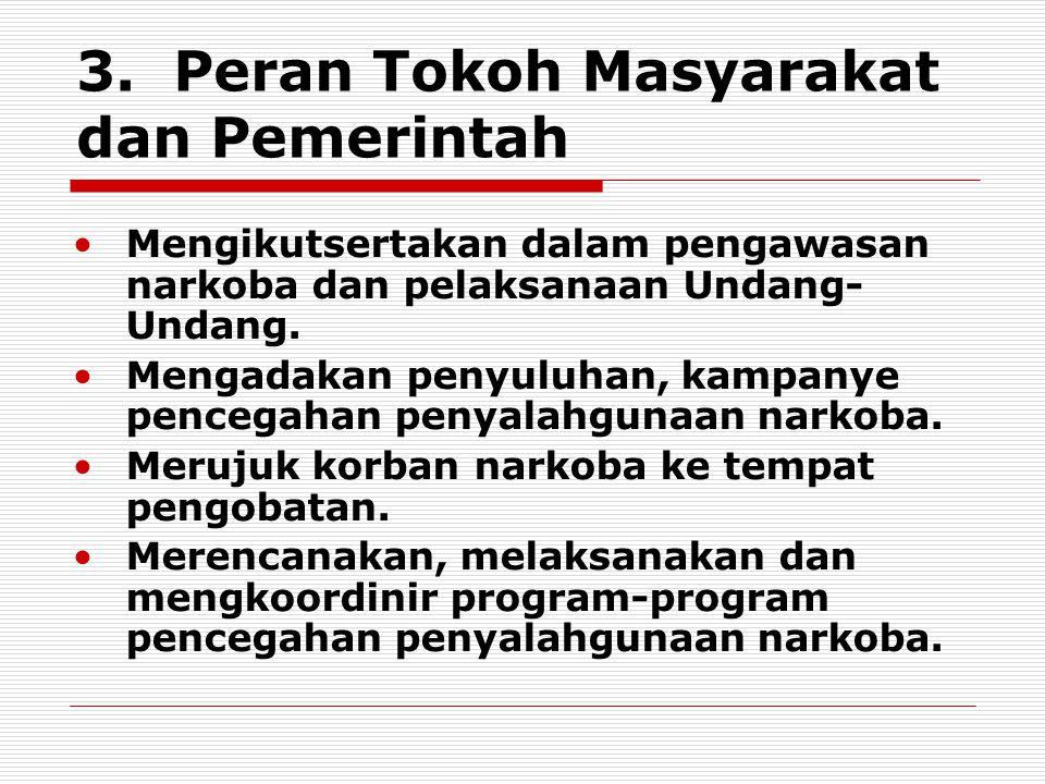 3. Peran Tokoh Masyarakat dan Pemerintah