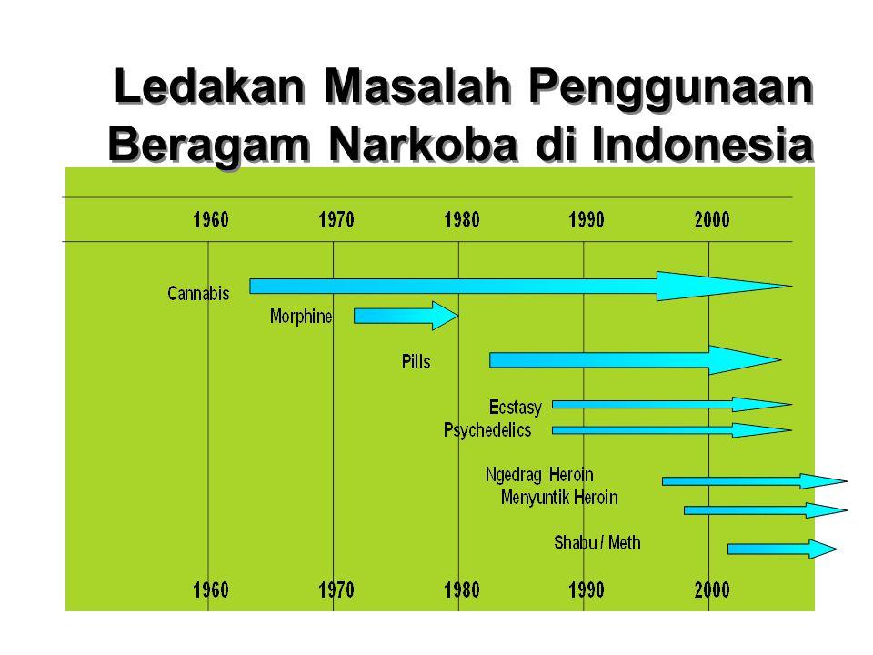 Ledakan Masalah Penggunaan Beragam Narkoba di Indonesia