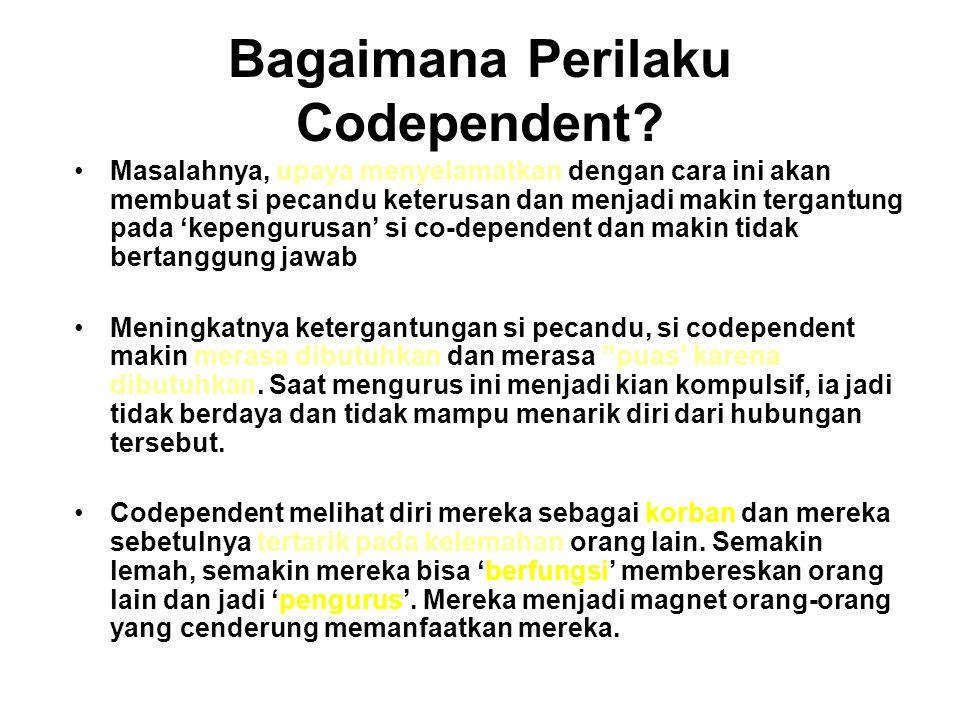 Bagaimana Perilaku Codependent