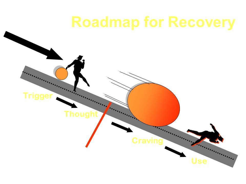 Roadmap for Recovery Trigger Thought Craving Use 4/9/2017 Slide 11