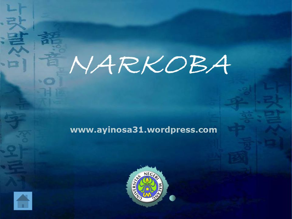NARKOBA www.ayinosa31.wordpress.com