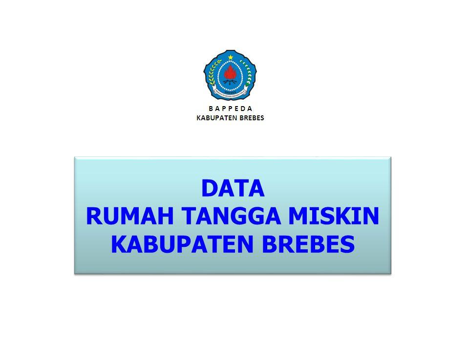 DATA RUMAH TANGGA MISKIN KABUPATEN BREBES