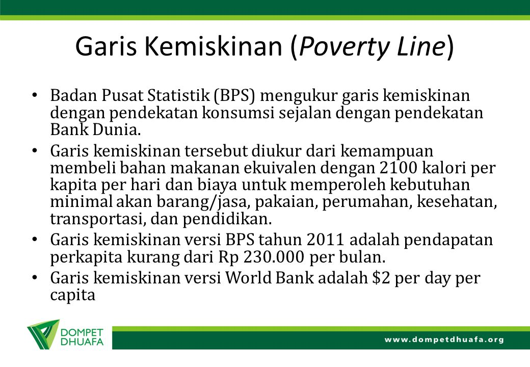 Garis Kemiskinan (Poverty Line)