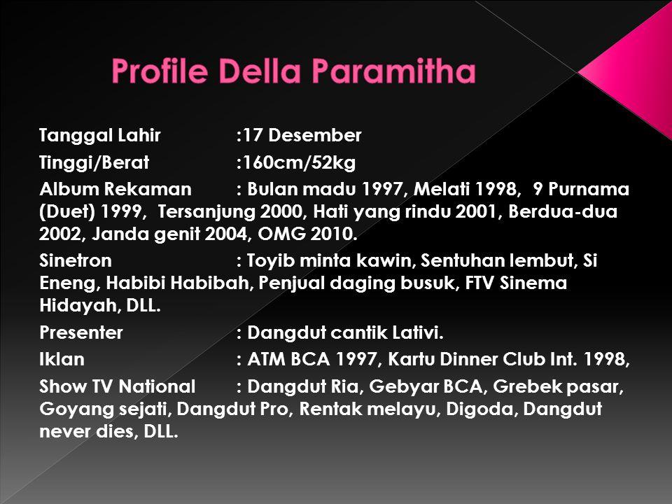 Profile Della Paramitha