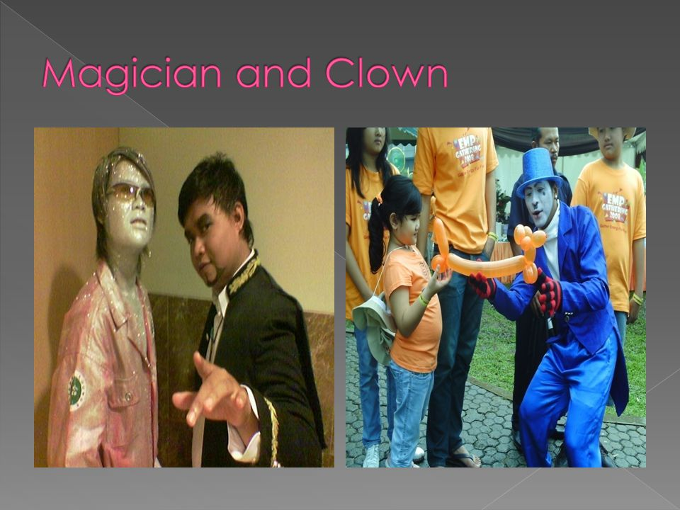Magician and Clown