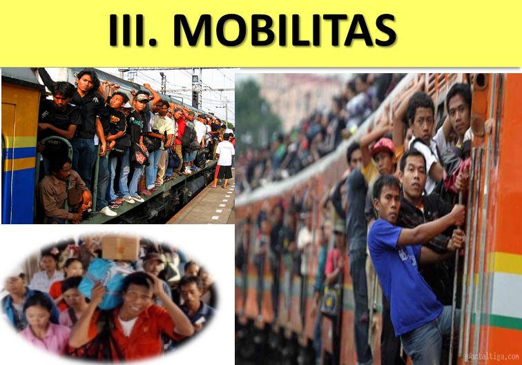 III. MOBILITAS