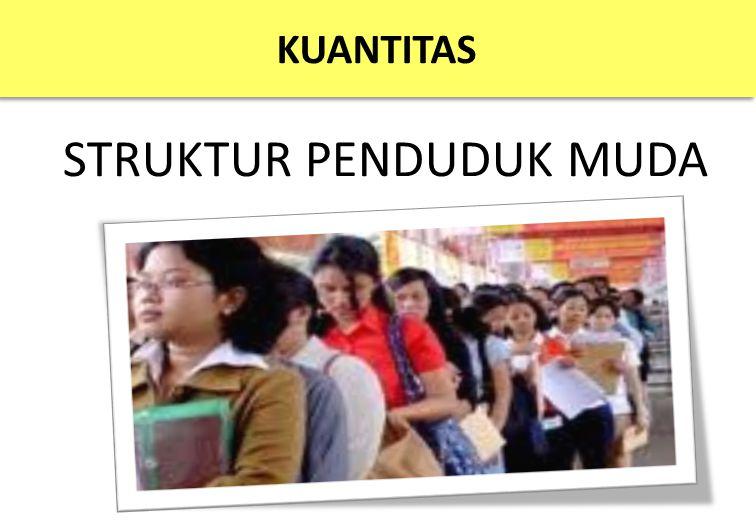 STRUKTUR PENDUDUK MUDA