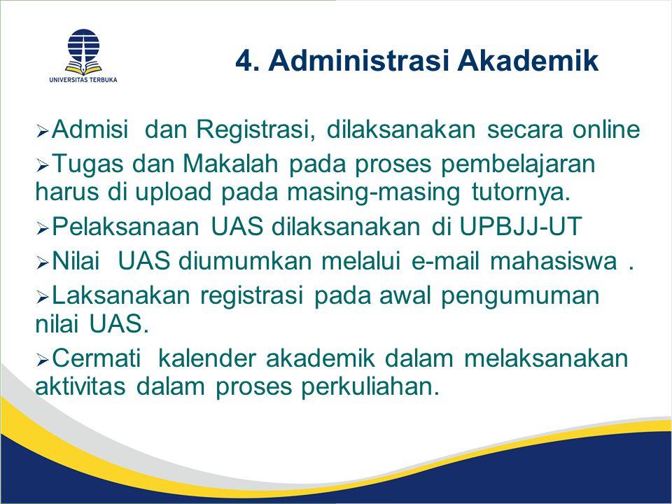 4. Administrasi Akademik