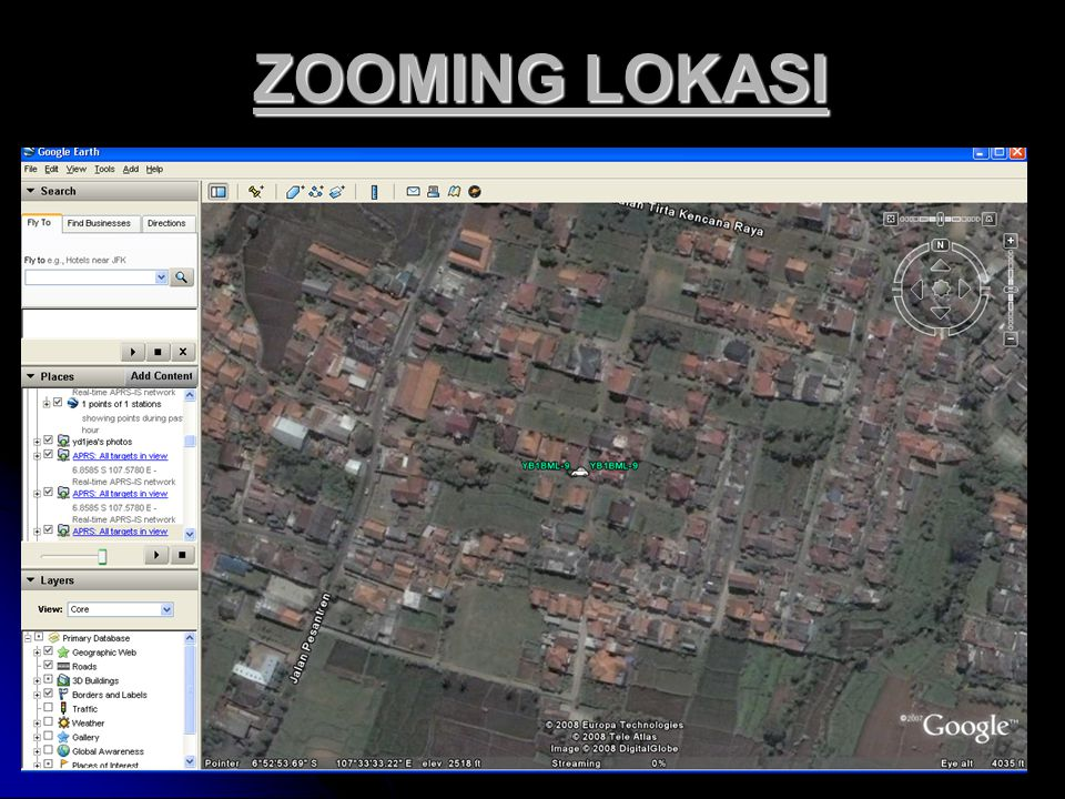 ZOOMING LOKASI