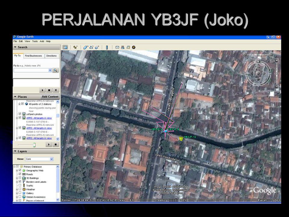 PERJALANAN YB3JF (Joko)