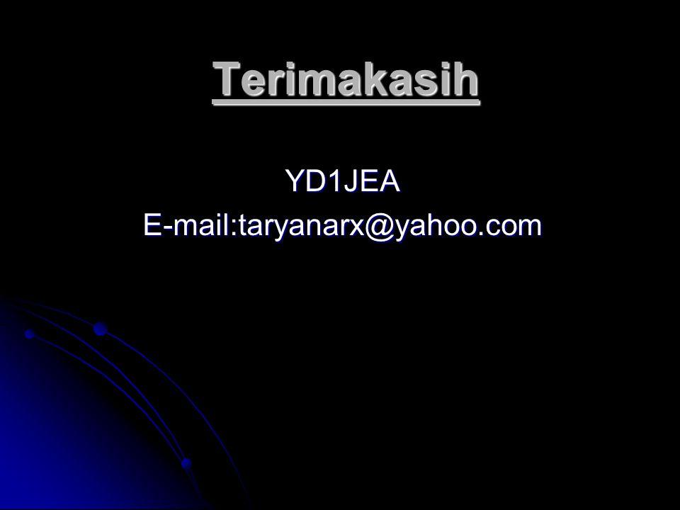 YD1JEA E-mail:taryanarx@yahoo.com