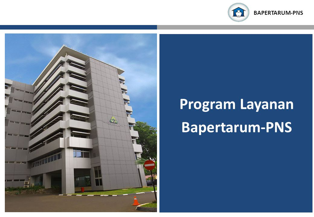 Program Layanan Bapertarum-PNS