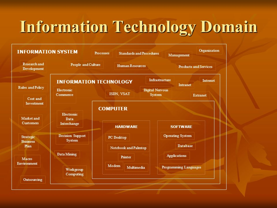 Information Technology Domain
