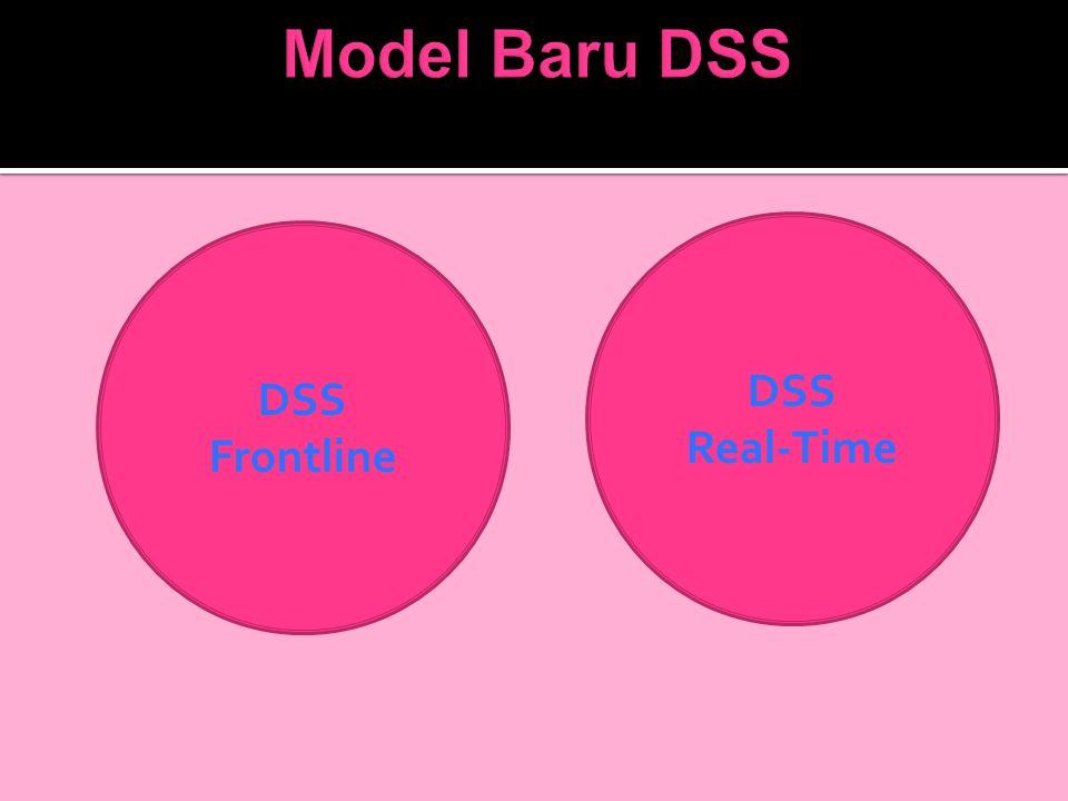 Model Baru DSS DSS Real-Time DSS Frontline
