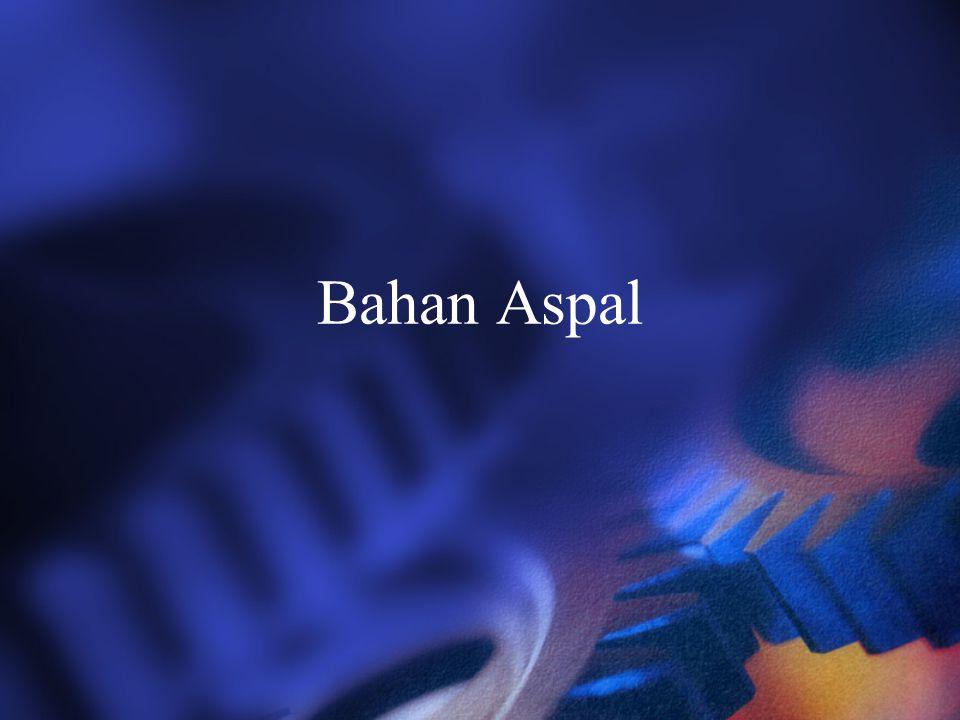 Bahan Aspal