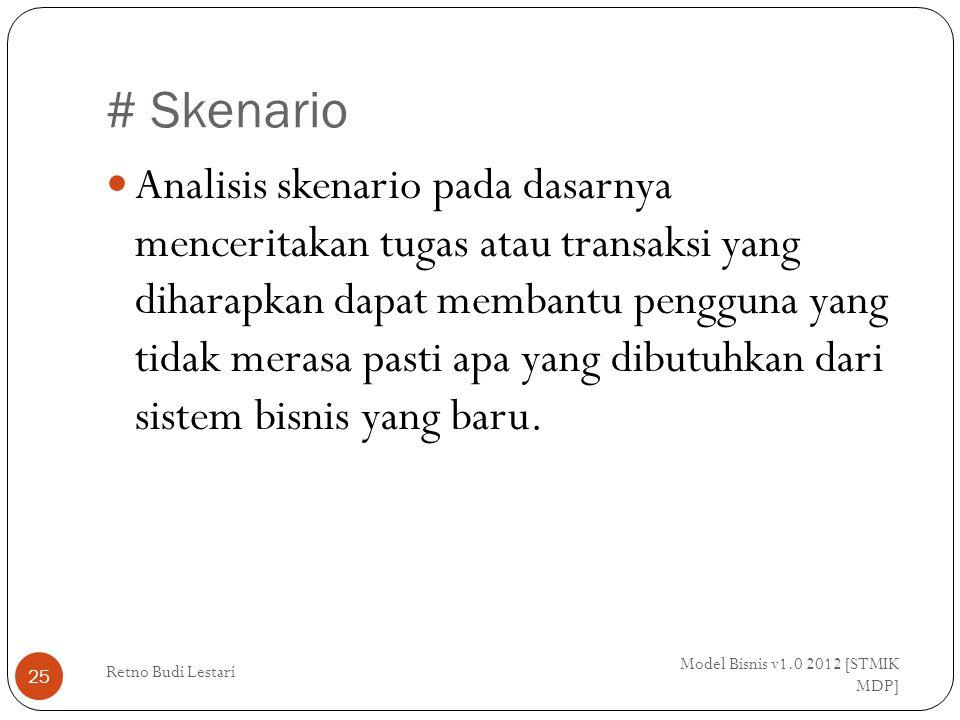 # Skenario