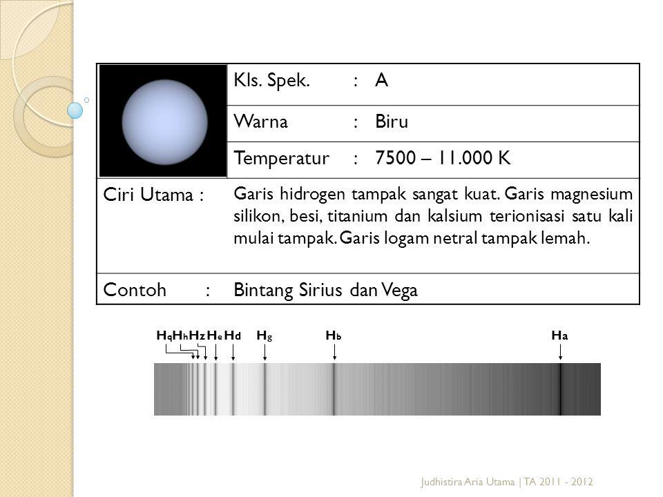 Bintang Sirius dan Vega
