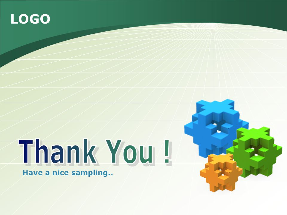 Thank You ! Have a nice sampling..