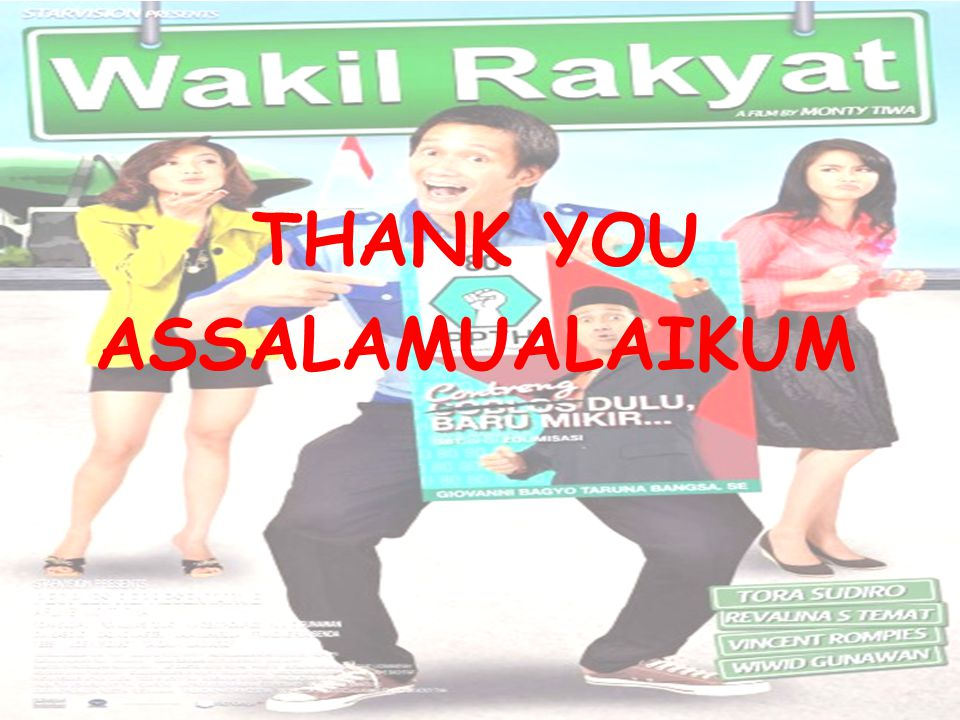 THANK YOU ASSALAMUALAIKUM